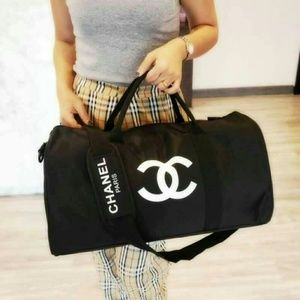 New Chanel vip gift travel bag